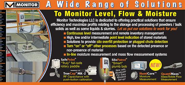Level Flow Moisture Sensors