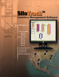 Silo Track Level Inventory Management Software